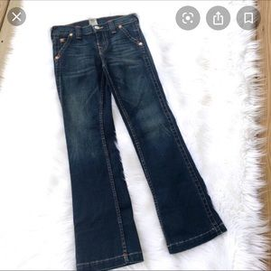 Girls True Religion Bootcut Jean